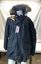 Authentic Parajumpers Mens XXL Kodiak Eco-Man Jacket ~ Black ~ Brand New w/ Tags