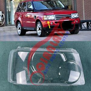 For Range Rover Sport 2006-2009 Right Side Headlight Lens Cover + Sealant Glue