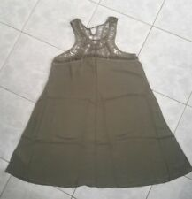 Hollister Swimsuit Cover Up Dress, Olive, Size L **Can Be Wear Like A Dress