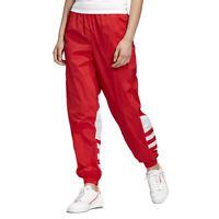 Adidas Women's Originals Big Logo Lush Red/White Track Pants FM2561 NEW