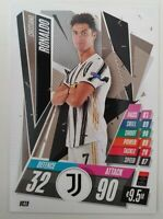 2020/21 Match Attax UEFA Champions League - Cristiano Ronaldo Card Juventus UC19