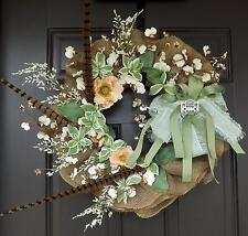 "21"" Wonderful Unique Handmade Wreath - Betty"