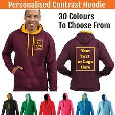 Custom Printed Hoodie Unisex Personalised Stag Hen Workwear Event Hoody Varsity
