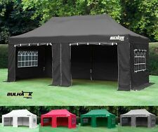 BULHAWK® 3x6 PREMIUM PLUS 40mm HEAVY DUTY COMMERCIAL GRADE POP UP GAZEBO MARQUEE