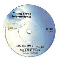 """Mac And Katie Kissoon - Love Will Keep Us Together - 7"""" Record Single"""