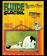 FLUIDE GLACIAL N° 16 (année 1977) GOTLIB BINET GOOSSENS ALEXIS CABANES COUCHO