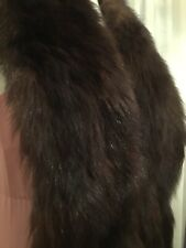 Genuine Real Fox Fur Vintage Cape Stole One size