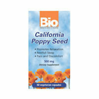 California Poppy Seed 60 VEG CAPS  by Bio Nutrition Inc