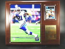 Ezekiel Elliott Dallas Cowboys Holz Wandbild 38cm,Plaque Wall Pic NFL Football