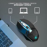 2.4GHz Wireless Optical Engine Gaming Mouse PC Laptop Mice with USB Receiver
