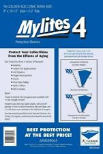 50 - Mylites4 - Golden Age - Heavy Duty - Mylar Protective Comic Sleeves