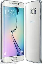 "Samsung Galaxy S6 edge SM-G925F White (FACTORY UNLOCKED) 5.1"" QHD, 32GB, 3GB RAM"