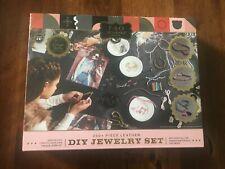 Fao Schwarz Diy Leather Jewelry Making Set with 250+ pieces New