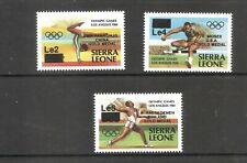 Sierra Leone  (1985)  - Scott #  699 - 701,