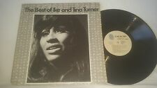 THE BEST OF IKE AND TINA TURNER VINTAGE 1973 BLUE THUMB RECORDS STEREO LP BTS-49