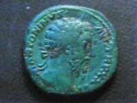 ROMAINE/ MARC AURELE 161-180. SESTERCE. R/ ROME ASSISE. ROME 172.
