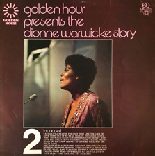 DIONNE WARWICK ‎- Golden Hour Pres The Dionne Warwick Story Part 2 In Concert LP