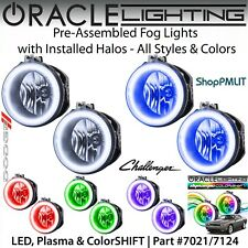 ORACLE Pre-Assembled Halo Fog Lights for 08-14 Dodge Challenger *All Colors