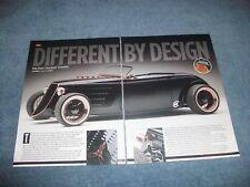 """1933 Factory Five Ford Roadster Street Rod Article """"Different by Design"""""""