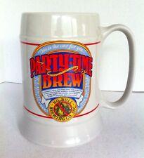 1986 Hallmark Big Smile Stein Party Time Brew No Bull Brewing Co. Beer Stein