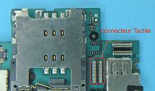 Reparation connecteur 2 TACTILE iphone 3gs 3g micro soudure repair carte mere