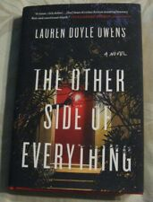 The Other Side of Everything Lauren Owens HB DJ First Edition 2018 NEW 1st Prin