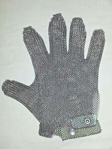 Stechschutz- Handschuh, Fleischerhandschuh