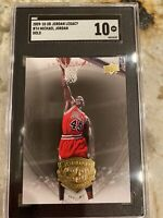 2009 Upper Deck Jordan Legacy Gold Michael Jordan #74 LOW POP SGC 10 Gem!!🔥🔥🔥