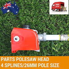 4 TEETH POLESAW POLE SAW HEAD REPLACEMENT CHAINSAW BRUSHCUTTER GEARBOX CHAIN SAW