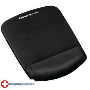 PE PlushTouch(TM) Mouse Pad Wrist Rest with FoamFusion(TM) (Black)