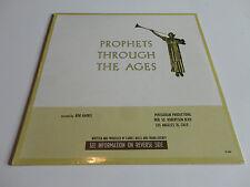 Prophets Through the Ages (1965 PENTAGRAM) LDS Missionary BN {Scarce}Vinyl/LP