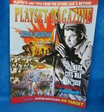 Playset Magazine #115 Marx Civil War 5959 playset , Keystone western sets + more