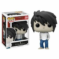 FUNKO POP DEATH NOTE FIGURE L ELLE LIGHT RYUK MISA ANIME MANGA STATUA PLUSH #2