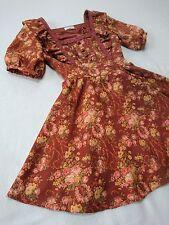 LIZ LISA Antique Gothic dress Rose bouquet Lace Ribbon Japan Hime&Lolita SizeM