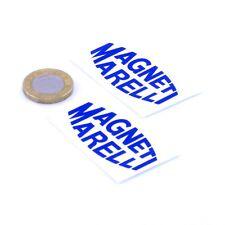 Magneti Marelli Stickers Classic Car Racing Decals Vinyl 50mm x2 F1 Rally