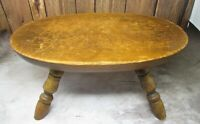 Antique ca.1900 RARE OVAL Milking / Cooking Everything Stool VA Farm Made & Used