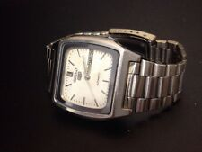 VINTAGE SEIKO 7009-5862 SQUARE CASED AUTOMATIC MENS WATCH