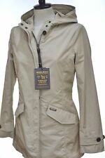 WOOLRICH W'S SUMMER PARKA TG. M COL. BEIGE GIACCA IMPERMEABILE DONNA wwcps2468