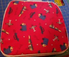 New listing Set of 4 Childs Kids Fabric Chair Pads Cushions 1� Foam