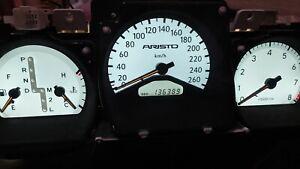JDM Toyota Aristo Lexus GS300 260KM/H Gauge Cluster Speedometer 1998-2005