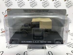 """Die Cast """" Alfa Romeo A. R. Matta 1954 """" Carabinieri Scale 1/43"""