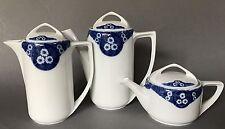 1v5: 3x Porzellan Service Kaffee- Tee- Kakao-Kanne Donatello Alice Rosenthal ~10