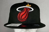 New Era NBA Miami Heat XLT Script 9FIFTY Snapback Hat, New 100% Polyester