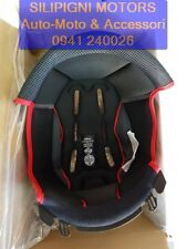Interno Casco Imbottitura Cuffia NOLAN N104 / EVO / ABSOLUTE Black-Red - TG.M