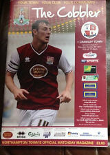 Northampton Town verses Crawley Town Oct 8th 2011
