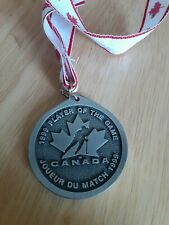 1999 Hockey Canada Women's National Championship Player of The Game Medal
