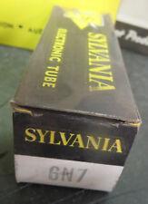 GE/Sylvania 6N7 Vacuum Tube