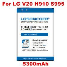 LOSONCOER 5300mAh BL-44E1F Battery for LG V20 F800 H990 Battery H990 F800 VS995