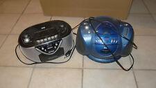 2 CD Player mit Radio und Kassettendeck