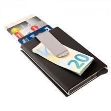 Custodia protettiva carta di credito fermasoldi portafoglio alluminio RFID NFC p